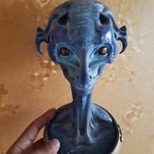 alein bust fan art alien ufo mars et