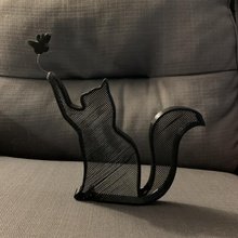 cat earring stand holder butterfly cat stand jewelry earrings