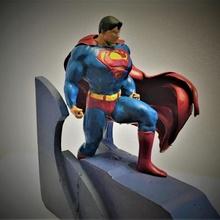 superman repaired art book fantasy hero superhero comic dc superman fan comics