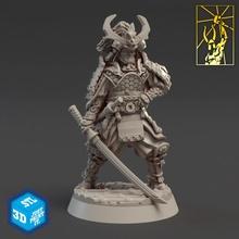 harabe Shogun masaüstü zırh Ejderha fantezi dövüşçü minyatürler savaşçı Katana Shogun dövme imparatorluk titan