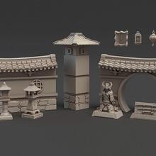 dragon Empire terrain ensemble table dragon fantaisie miniatures terrain diorama forger Empire Titan
