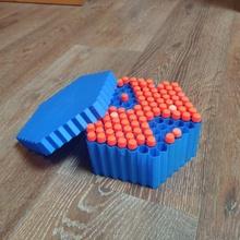 nerf Bienenstock Box sechseckig Darts Container Munition Box Container Spielzeuge nerf Munition Darts