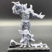 dragon born pose 2 tabletop creature dragons dungeons fantasy figurine gaming mini monster rpg miniature tabletop