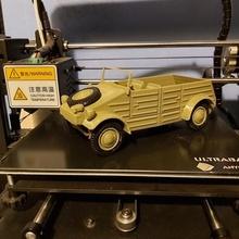 Kubelwagen stampato 1 20 scala giocattoli Giochi vw macchine Kubelwagen