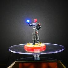 vermelho crânio luz TESSERACT mão crise protocolo mini brinquedos jogos maravilha miniatura TESSERACT protocolo crise