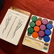 Crokinole 4 Spieler Box Brettspiele Brettspiel Crokinole