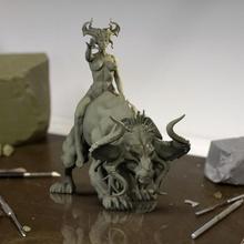 demonio niña mesa demonio fantasía miniaturas Marte dlp mesa 2020 calabozo dnd fotón mazmorra dragón demonio fantasía femenina