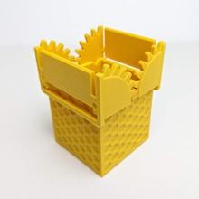 Chomper Box Geschäft Box Container Schreibtisch Spaß Geschenk Deckel mechanisch Büro Schreibwaren Lager Tabelle Zähne aufgeräumt Spielzeug Exekutive ziehen Geometrie Haushaltswaren Zahnräder