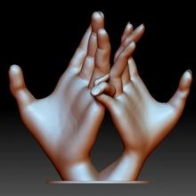 eller çift Aşk işaret parmaklar dokunmuş Bahçe hediye eller Aşk adam insanlar düğün Kadın çift işaret yıldönümü