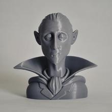 vampire character bust bust cartoon halloween vampire character