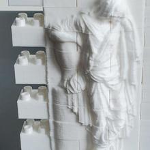 montini princess sofia tombstone wall set bulding bricks compatible bricks sculpture relief block princess tombstone building blocks bouwstenen briques montini