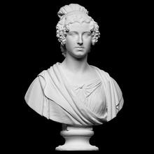 eliza glenorchy scan bust rome sculpture british plaster neoclassical thorvaldsen bertel openglam eliza-glenorchy