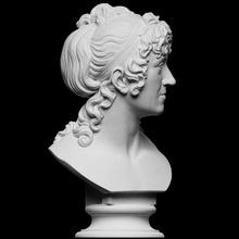 jacqueline schubart scan 3d bust hair portrait sculpture marble denmark thorvaldsen artec bertel cc0 openglam artec-eva jacqueline-schubart