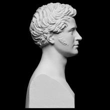 wriothesley russell scan 3d bust portrait sculpture boy italy denmark thorvaldsen artec bertel cc0 openglam artec-eva wriothesley russell