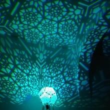 fünfeckig Rose Schatten Lampe v10 Lampenschirm geometrisch Lampe Licht Beleuchtung Rose Dodekaeder Schatten dekorativ fünfeckig Beamer islamisch