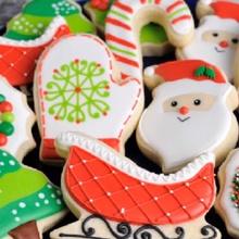 Weihnachten Plätzchen Cutter Weihnachten Zucker Glocke Kuchen Süßigkeiten Plätzchen Cutter Dekoration Lebkuchen Blatt Rentier Santa Schneeflocke Schneemann Star Baum Schnee Handschuh Schlitten Starlet