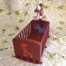 cradle crib -version 2 -mmu baby dolls furniture dollshouse cradle doll-house doll house asllexicon todd olsen doll furniture model furniture starlabs3d star labs 3d baby shower baby furniture baby toys crib doll doll toy