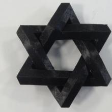 daud Estrela recordações mútuo estrutura ilusão objeto antigo símbolo Estrela david