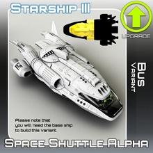 espaço transporte alfa ônibus variante tampo mesa sci fi Estrela terreno guerra miniatura scifi tampo mesa nave estelar aterrissagem 28mm hangar openlock viajante Perigo localizador estrelas viajante