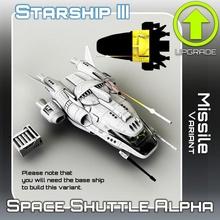 espaço transporte alfa míssil variante tampo mesa sci fi Estrela terreno guerra miniatura scifi tampo mesa nave estelar aterrissagem 28mm hangar openlock viajante Perigo localizador estrelas viajante