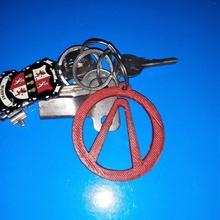borderlands porte clés cool Jeu porte clés porte clés rapide Facile symbole signe Xbox ps4 emblème borderlands joueur