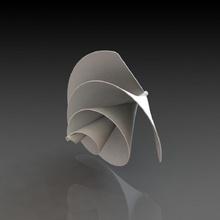 Arquímedes liam f1 espiral viento turbina Tienda energía turbina diseño Ciencias primavera estilo viento Ingenieria forma producto espiral electricidad aire libre generador rango eficiente elemento geometric shape