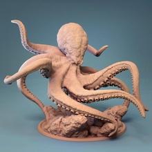 kraken table impression bête créature kraken monstre Seigneur calamar dnd lotp