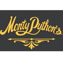 monty python's text logo python monty