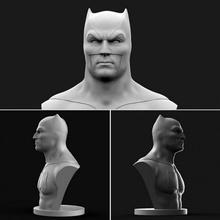 Batman fallimento fan arte 3d gratuito Stampa arte Batman buio figurine Gotham cavaliere miniature scultura statua supereroe comico dc furfante affleck