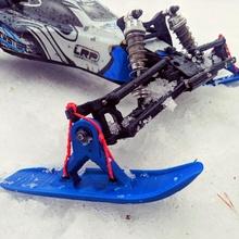 universal rc ski set set winter snow universal rc buggy truggy ski snowmobile