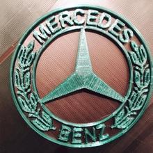 mercedes benz 3d emblème fan art voiture logo voitures logos mercedes benz mercedesbenz