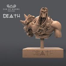morte Darksiders livre esculpir livre fracasso miniaturas videogames esculpir morte Darksiders apocalipse freesculpt