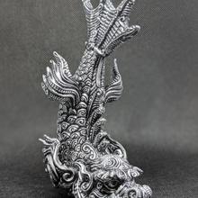Drago pesce negozio antico animale artefatto Cinese Drago fantasia pesce mitico scifi orientale ornato rubandbuff