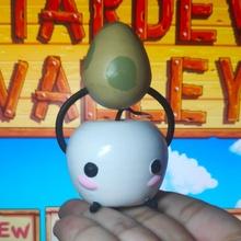 stardew valley junimo apple cute egg game video valley spirit stardew junimo