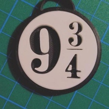 harry potter 9 3 4 - porte cl key chaine fashion & accessories key hogwarts cl howdgart