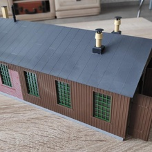 stall engine house toys & games railroad h0