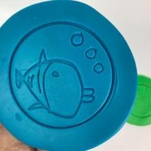 pâte modeler poisson 2d dessin jouets Jeux éducation jouets pâte modeler l'artisanat playdohtools Art plastique jardins 39 enfants