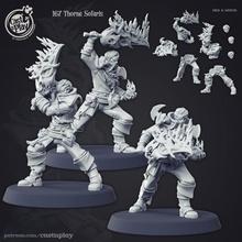 Thorne solaris tampo mesa demônio mini espada sangue caçador tampo mesa dnd fundida castnplay caçadores