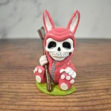 sinistre lapin boutique mignonne Pâques figure sinistre crâne lapin mort lapin 2020 chibi moissonneuse morte faucheuse