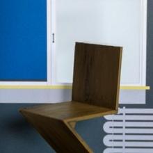 gerrit canavial zig zag cadeira jardim cadeira Projeto casa canavial