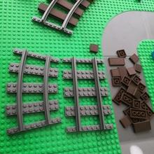 Facile lego compatible Douane pistes enfants Jeu gamins lego jouer Facile jouets pistes train rail Douane compatible brique enfant Piste 39 39 amusement