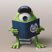 Miguel wazowski monstruos Universidad pixar Miguel wazowski Monsters University