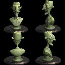 nigel Thornberry ventilador arte 3d stl fracasso fantasia engraçado impressão nigel Thornberry escultura dnd esmagador sátira minas cômico