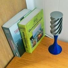 kinetisch Stimmung Lampe Vertikale Wind Turbine Modell vawt Garten Turbine Arduino Wettbewerb Lampe Stimmung Wind Windmühle Savonius vawt Elektromacher electromakerkitscompetition Darrieus kinectic