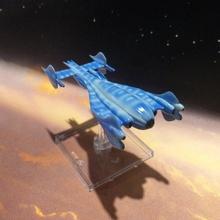 Minbari folheto tampo mesa jogos navio nave espacial miniatura tampo mesa xwing folheto Babilônia babylon5 Minbari
