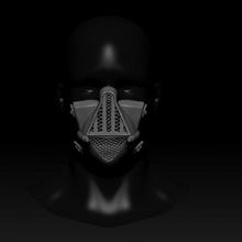 quarantine mask darth vader style free stl accesory fantasy helmet mask protection star starwars 3dprint scifi wars covid covid19 quarantine