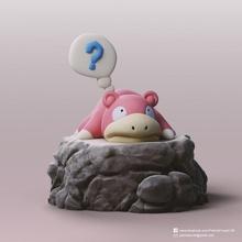 slowpoke Pokemon carina Pokemon slowpoke