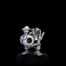 ulag - orc lineman tabletop bowl game orc blood miniature sculpt italy resin pirates 28mm 32mm lineman bloodbowl mgpix tebletop