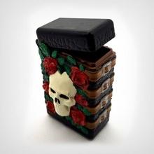 gotisch Box Scharnier Geschäft Box gotisch Rose Schädel Lager Rosen