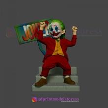 stilize joker heykel stl 3d Yazdır dosya hayran Sanat iblis batman büst karikatür palyaço joker hayret minyatür heykel heykel Süpermen stilize dc comic comic con Halleyquinn siyah maske